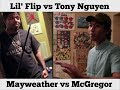 Download Lil' Flip vs Tony Nguyen on Mayweather vs McGregor MP3 song and Music Video