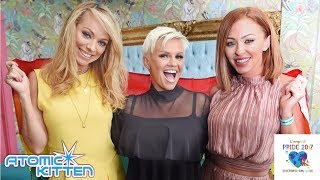 The sensational & beautiful Kerry Katona, Natasha Hamilton & Liz Mc...
