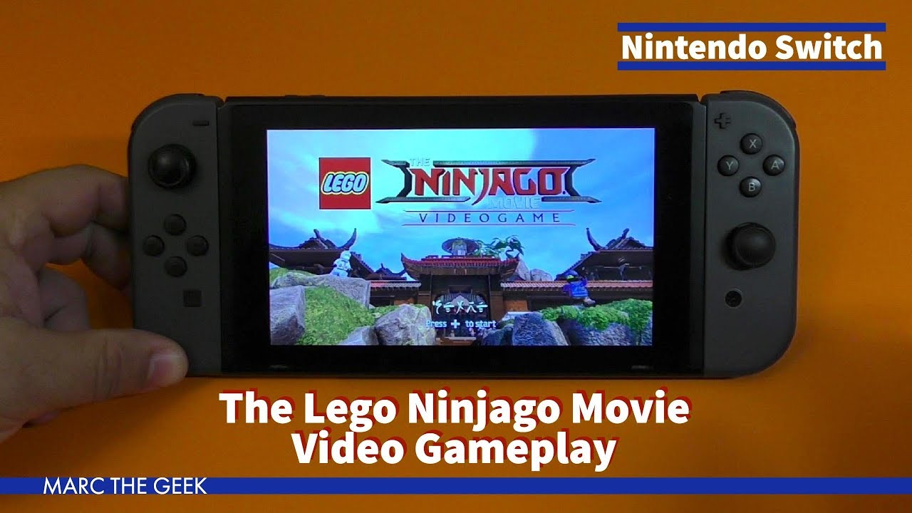 Nintendo Switch The Lego Ninjago Movie Video Gameplay Youtube