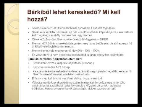 video tanfolyam opciók kereskedése)
