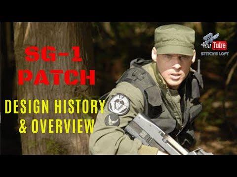 Download Stargate SG-1 Patch - Design History & Overview - ThisJustin - Stitch's Loft