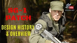 Stargate SG-1 Patch - Design History & Overview - ThisJustin - Stitch's Loft