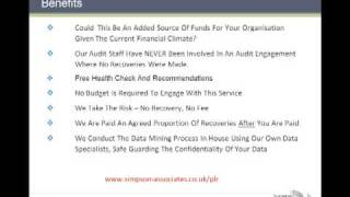 Simpson Associates Purchase Ledger Recovery Audit Service