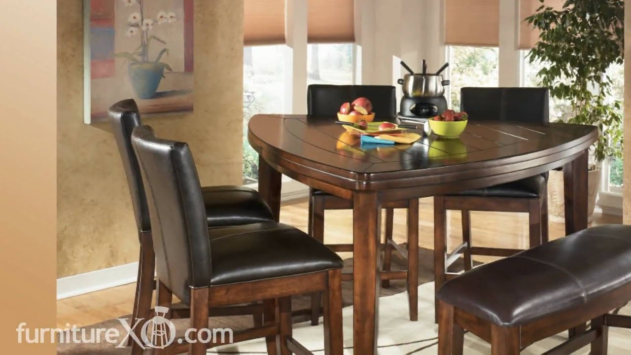 Larchmont Counter Height Casual Dining Set By Signature
