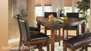 Larchmont Counter Height Casual Dining Set By Signature Design By Ashley Furniture