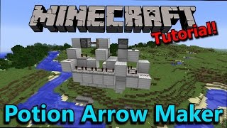 [Tutorial] Minecraft Potion Arrow Maker (1.9 Ready)
