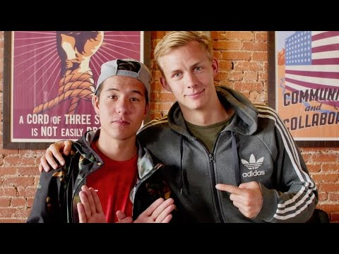 Pro Swedish freestylers PWG and VLO share tips and lessons to their Bohemian lifestyle