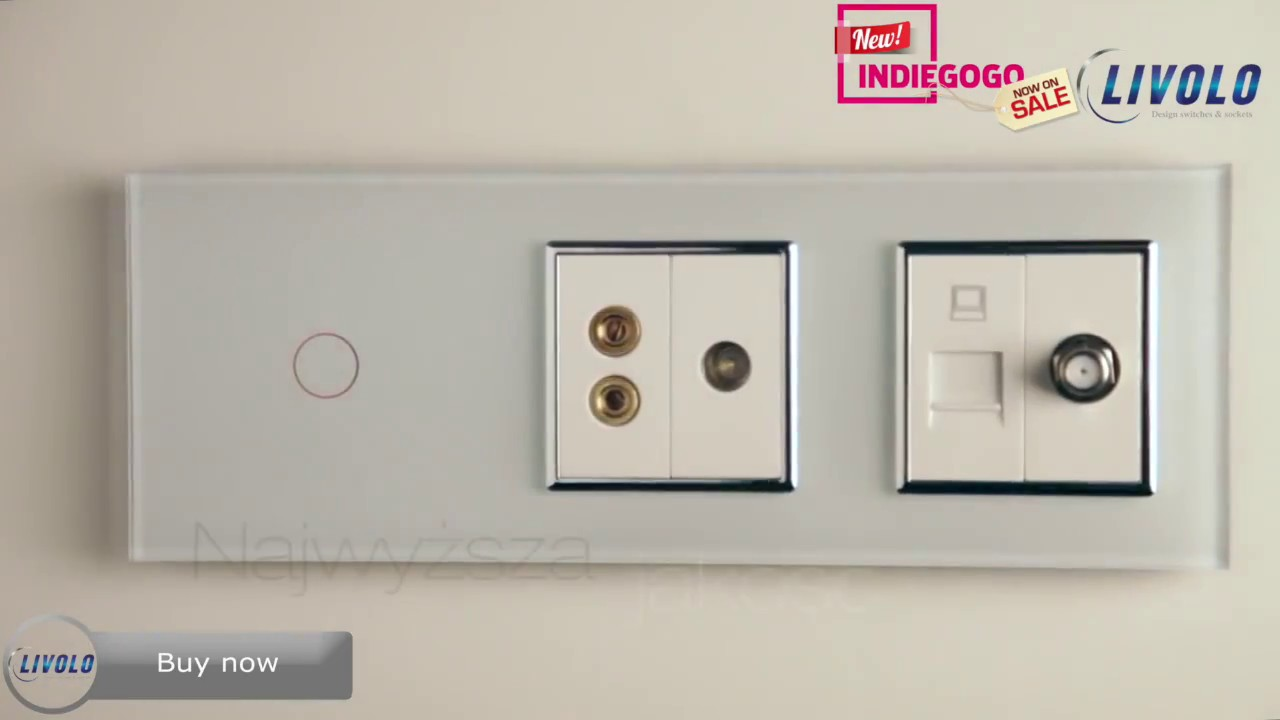 Livolo Touch Switches  for Wall Switches And Sockets  111bof