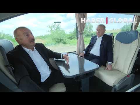 Emine Erdoğan ile İlham Aliyev arasında Dikkat Çeken Samimi Diyalog (Tek Parça)