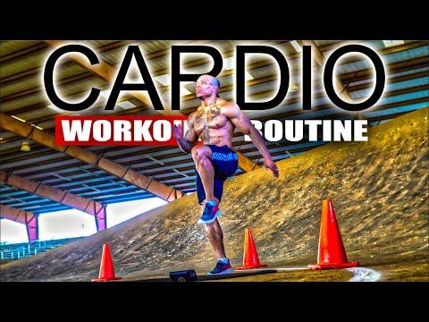 40 MINUTE FAT BURNING CARDIO WORKOUT(NO EQUIPMENT)