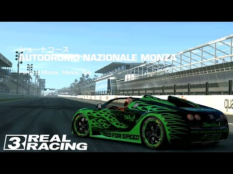 real racing 3 wtt july 2015 s3 monza short bugatti veyron 16 4 gsv youtube. Black Bedroom Furniture Sets. Home Design Ideas