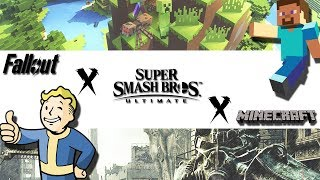 New Smash Ultimate Rumor! Vaultboy, Minecraft Steve and Mach Rider may be in? Lets discuss!