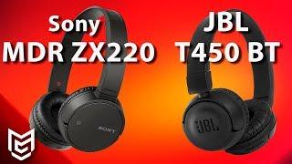Sony MDR ZX220BT vs JBL T450BT Bluetooth Headphone  🎧[ENGLISH SUBTITLED]