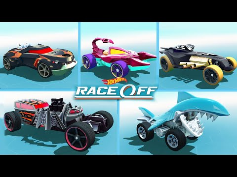 Hot Wheels: Race Off - All CREATURE Vehicles Gameplay Walkthrough Video (iOS Android)