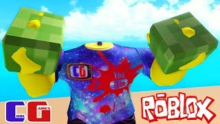 I became even more! BOXING SIMULATOR in Roblox #3 videos for Kids Battle cartoon heroes Boxing Simulator