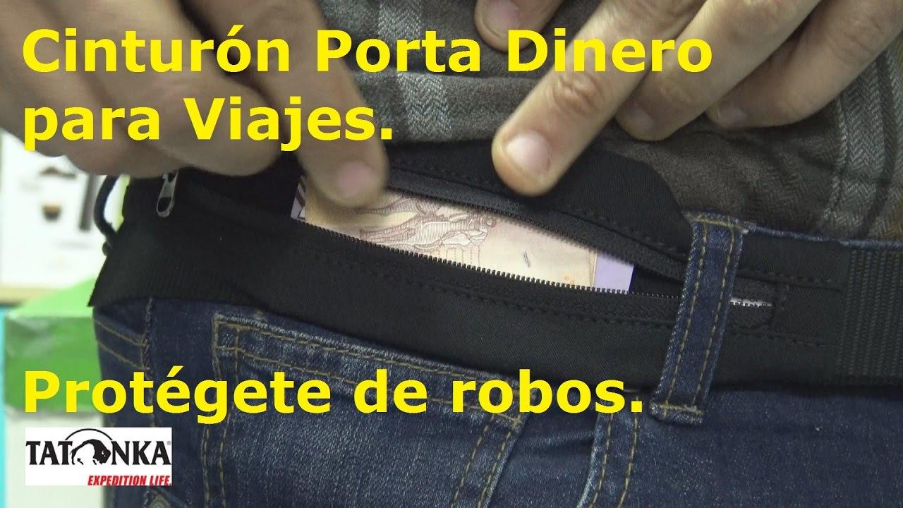 nueva estilos d70c0 7b96c Cinturón Porta Dinero para Viajes. Protégete de robos