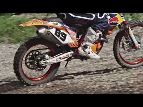 Marcel Hirscher - Motocross Session August 2014