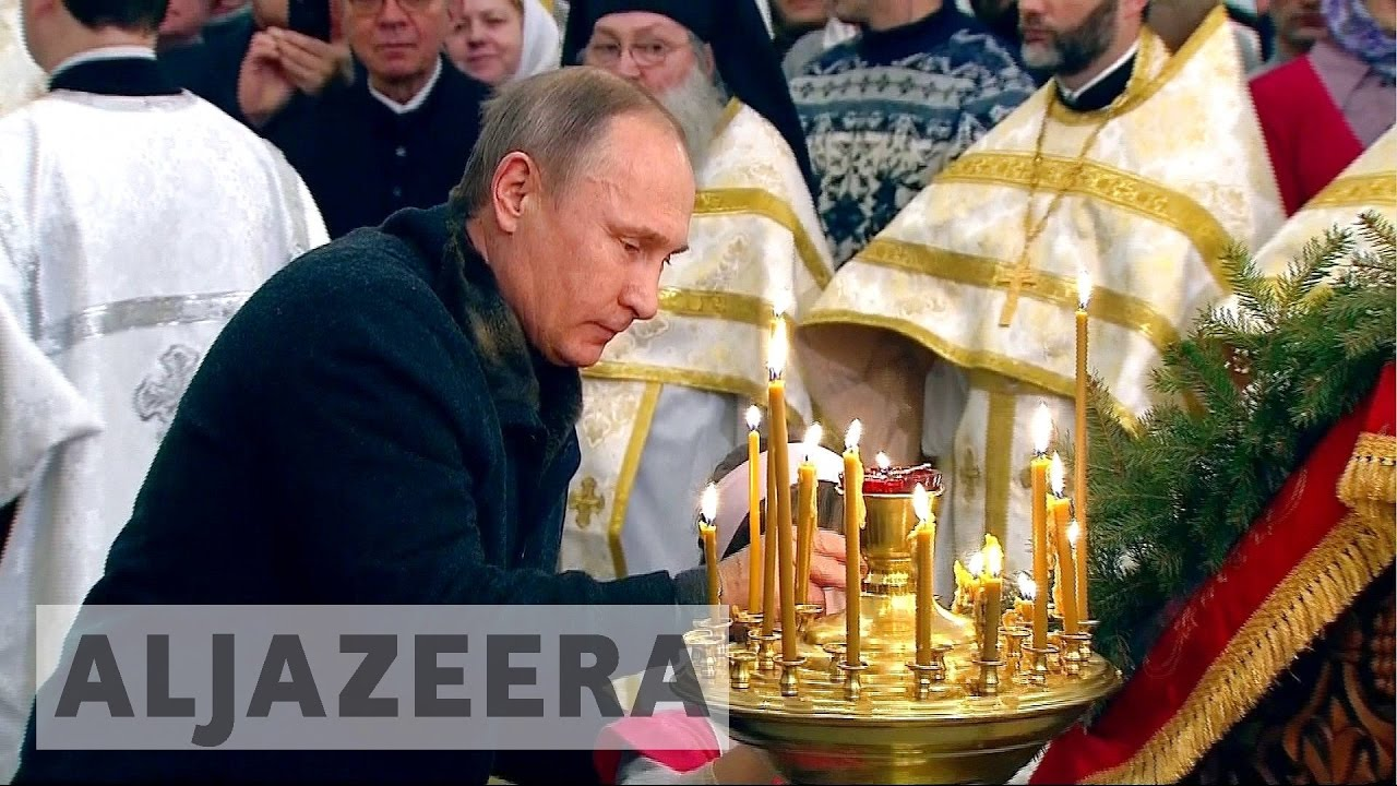Russia's Orthodox Christians enjoying revival under Putin