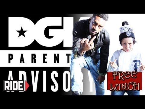 Veja o video -Keelan Dadd and Baby Scumbag – DGK Parental Advisory, Compton, Instagram, and More on Free Lunch!
