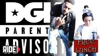 Keelan Dadd and Baby Scumbag - DGK Parental Advisory, Compton, Instagram, and More on Free Lunch!