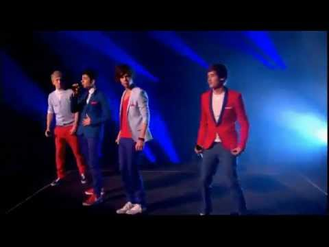 One Direction - One Thing on Dancing on Ice  Live