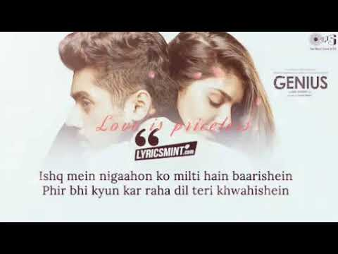 Dil Meri Na Sune Song Mp3 Video Singer: Atif Aslam | Genius | 2018