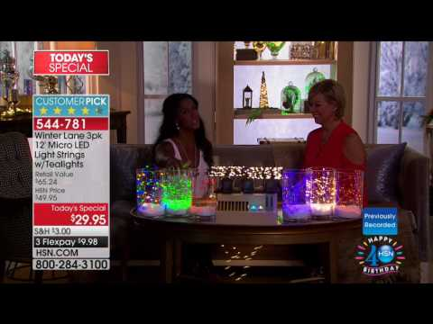 HSN | Christmas In July Holiday Decor Under $50 07.18.2017 - 05 AM