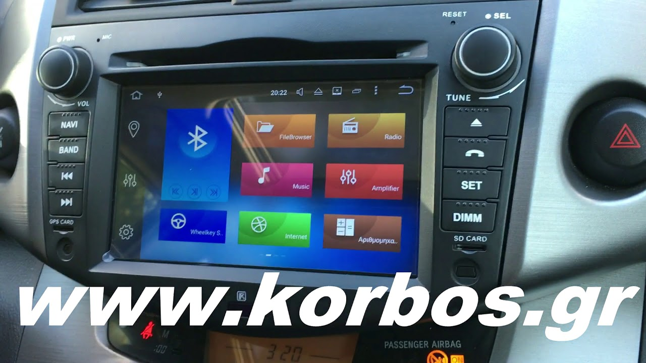 Toyota Rav4-Android 8 Lm T018 gps / Bizzar BL-TY90 www.korbos.gr