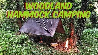 Woodland hammock camping - WÏLD CAMPING - hammock camping in the uk