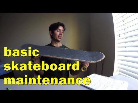 Basic Skateboard Maintenance