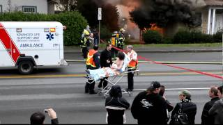 nanaimo fire ,stewart ave 4kfilms.ca