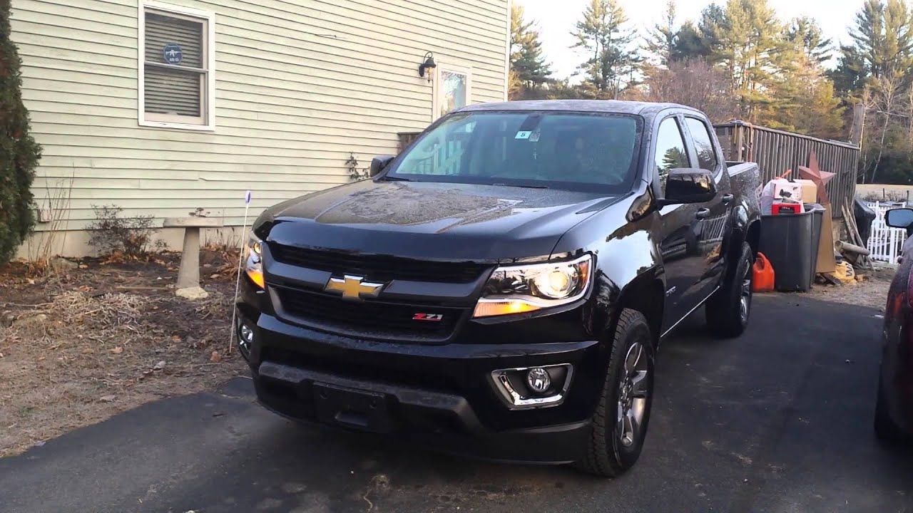stacey 39 s black 2016 chevy colorado z71 youtube. Black Bedroom Furniture Sets. Home Design Ideas
