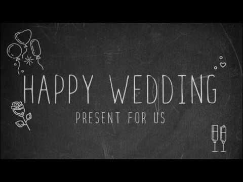 結婚式余興動画素材