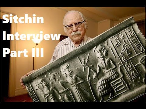 Zecharia Sitchin interview Part 4
