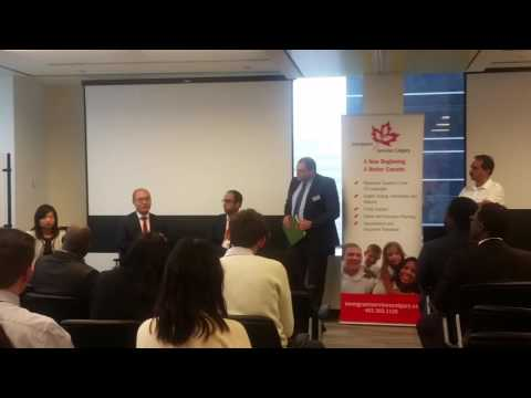 Deloitte Networking Event - Immigrant Services Calgary