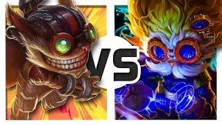 Ziggs vs Heimerdinger (Rap Battle)