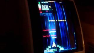 Chronoblast XBLIG running in EGRET II cabinet (24kHz)