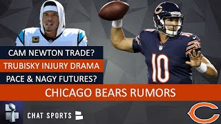 Bears Rumors: Mitch Trubisky Injury Or Benched? Cam Newton Trade? Ryan Pace & Matt Nagy Hot Seat?