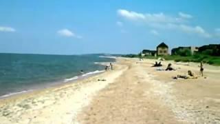Поселок  Пересыпь.  Берег Азовского моря.