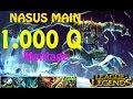 NASUS MAIN MONTAGE S7 | Best Nasus Season 7 | League Of Legends