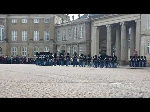 Changing of the Guard in Copenhagen