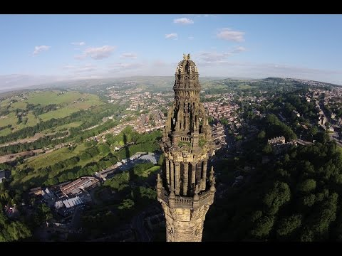 Wainhouse Tower Halifax by drone, the worlds tallest folly