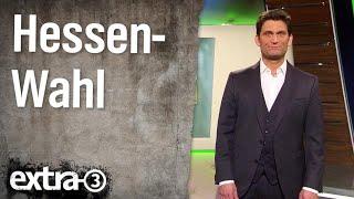 Vor den Landtagswahlen in Hessen