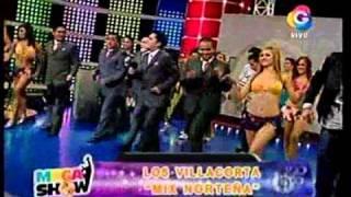 Mix Norteñito-Los Hnos Villacorta en MegaShow de Tula Rodriguez  - Red Global con Jhonatan Maicelo