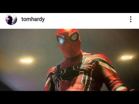 TOM HARDY TEASES SPIDER-MAN IN VENOM 2 On Instagram??