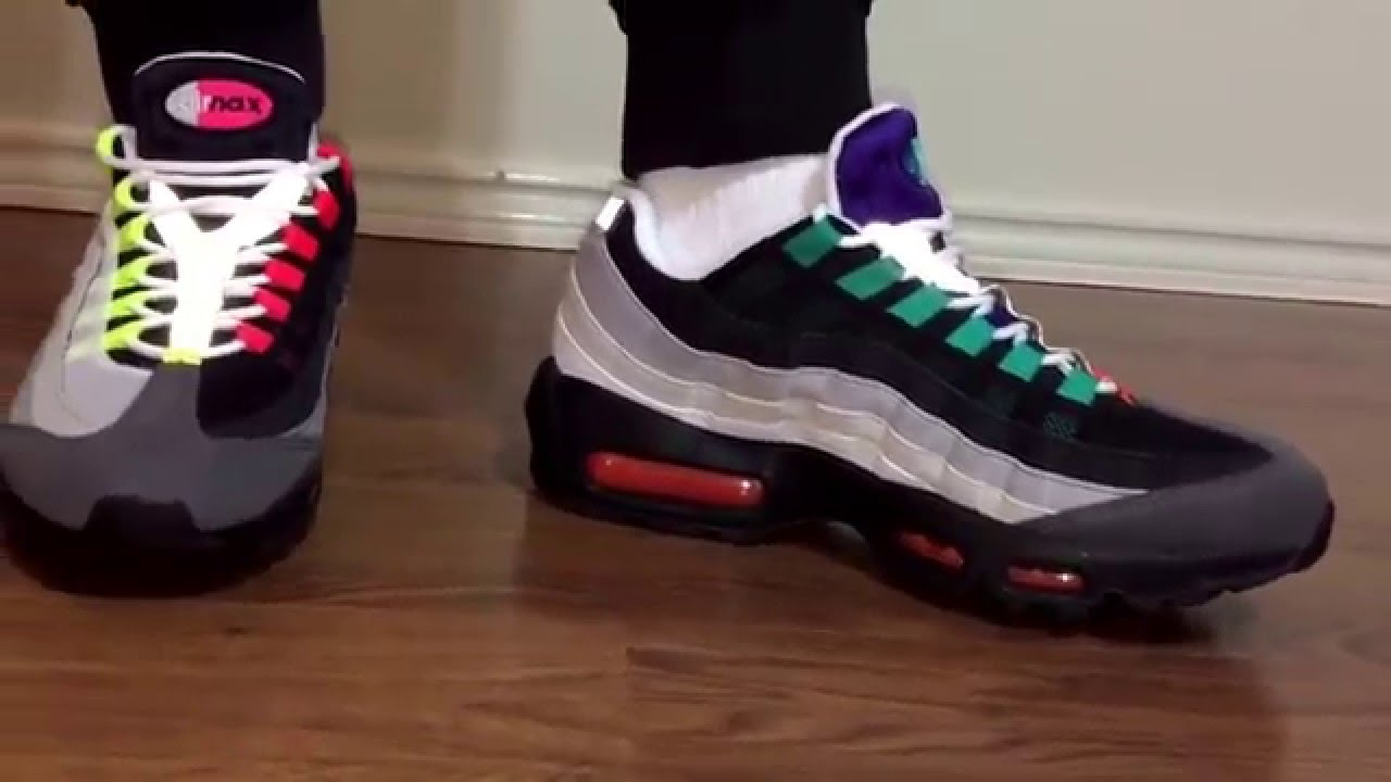 Air max 95 Greedy unboxing and on feet review