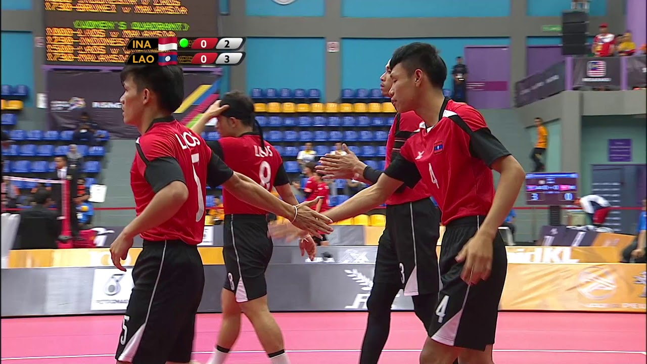 KL2017 29th SEA Games | Sepak Takraw - Men's Quadrant ...