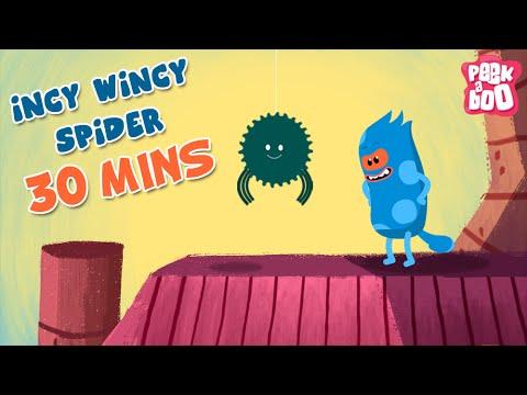 Incy Wincy Spider Plus More Nursery Rhymes | Popular Nursery Rhymes & Songs For Children