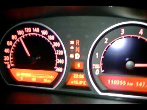 Bmw E65 735i Kickdown 70 200 Km H Youtube