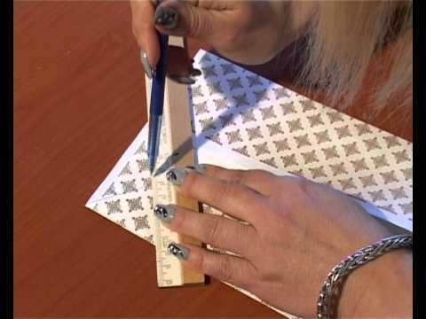 видео: Дизайнерская открытка своими руками